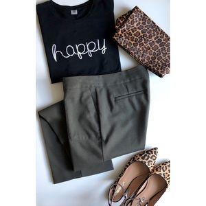 LOFT olive Marisa trouser